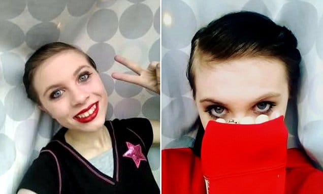 Katelyn Nicole Davis preteen suicide facebook live stream background check