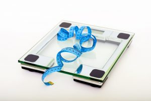 Smart scales keep track of multiple body metrics, including your weight